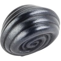 """Jeffrey Alexander By Hardware Resource - Lille Collection Knobs - 1.25"""" Overall Length in Gun Metal"""