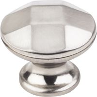"Elements By Hardware Resource - Drake Collection Knobs - 1.25"" Diameterin Satin Nickel"