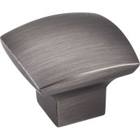 """Jeffrey Alexander By Hardware Resource - Sonoma Collection - 1.3125"""" Projection in Brushed Pewter"""