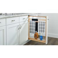 "Natural Maple 6"" Filler Pull-Out with Ball-Bearing Soft-Close Slides (filler purchased separately)"