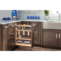 Base Cabinet Pullout Utensil Base Organizer Blumotion Soft-Close (for use with a Full Height door cabinet)