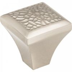 "Jeffrey Alexander by Hardware Resources - Solana Collection Cabinet Knob - 1.25"" Diameter in Satin Nickel"