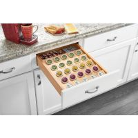 "Wood K-Cup Drawer Insert for an 18"" Base Cabinet"