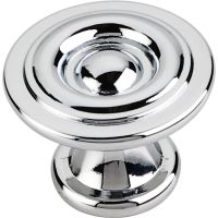 """Elements By Hardware Resource - Syracuse Collection Pulls - 1.1875"""" Projection in Polished Chrome"""