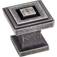 """Jeffrey Alexander By Hardware Resource - Delmar Collection Pulls - 1"""" Overall Length in  Distressed Pewter"""