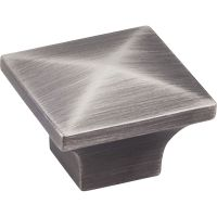 Jeffrey Alexander By Hardware Resource - Cairo Collection - in Brushed Pewter