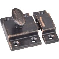 """Jeffrey Alexander By Hardware Resource - Latches Collection - 1"""" Projection in Brushed Oil Rubbed Bronze"""