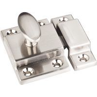 """Jeffrey Alexander By Hardware Resource - Latches Collection - 1"""" Projection in Satin Nickel"""
