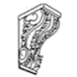 Dove Grey Shaker Decorative Corbel