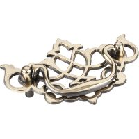 """Elements By Hardware Resource - Kingsport Collection Pulls - 3"""" Center to Center in  Brushed Antique Brass"""