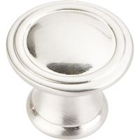 "Jeffrey Alexander By Hardware Resource - Cordova Collection - 1.187"" Diameter in Satin Nickel"
