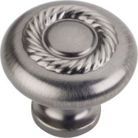 """Jeffrey Alexander By Hardware Resource - Lenior Collection - 1.25"""" Diameter in Brushed Pewter"""