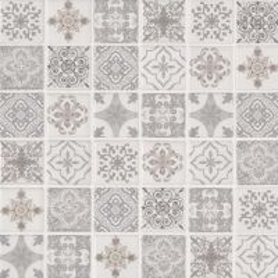 "Anya Blanco 2"" x 2"" x 6mm Mosaic Tile Sample"