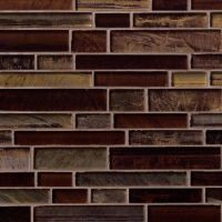 Artista Interlocking Pattern 8mm Mosaic Tile Sample