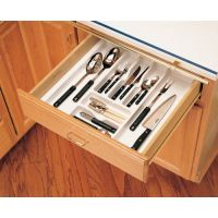 """Cutlery Tray - Fits an 18"""" Wide and 21"""" Wide Base Cabinet (Rev-A-Shelf)"""