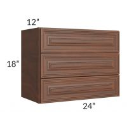 "Cambridge Saddle Glaze 24"" Vanity Countertop Cabinet"