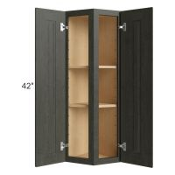 Charlotte Dark Grey 12x42 Wall End Cabinet