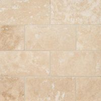 "Ivory Travertine 3"" x 6"" Subway Tile"