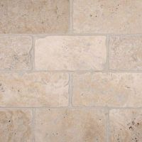 "Tuscany Travertine 3"" x 6"" Classic Subway Tile"