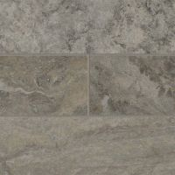 "Silver Travertine 4"" x 12"" Subway Tile Sample"