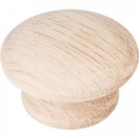 """Elements by Hardware Resources - Tempo Collection Cabinet Knob - 1.5"""" Diameter in Oak"""