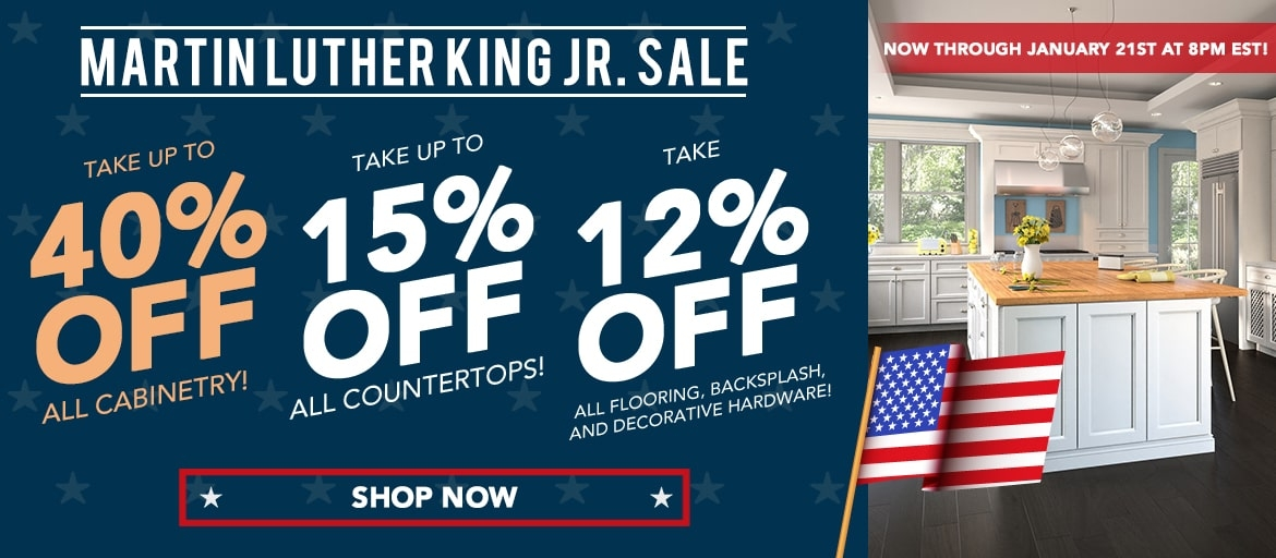 Martin Luther King Jr. Kitchen and Bathroom Sale