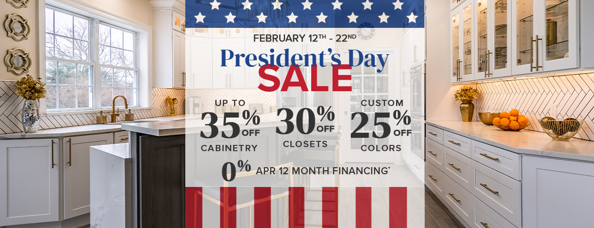 Our President's Day Sale Has Arrived!