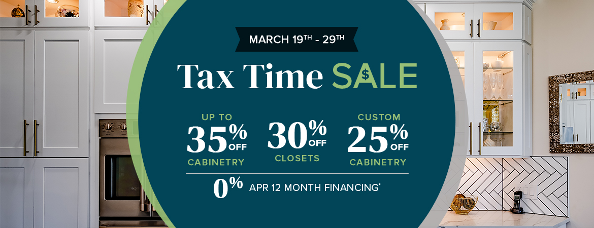 Our Tax Time Sale Has Arrived!