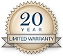 20 year limited warranty